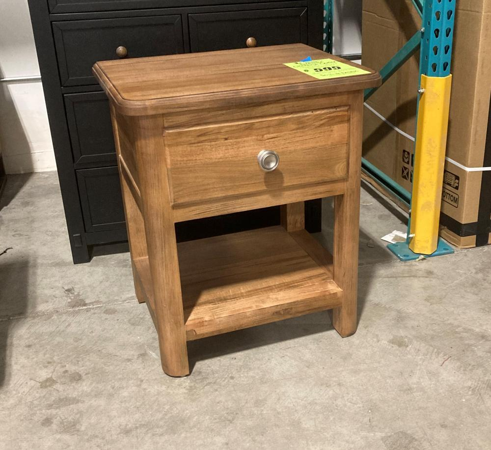 Maple Bedside Table