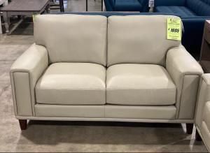 Harper Leather Loveseat