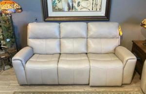 Jarvis Leather Power HR Sofa
