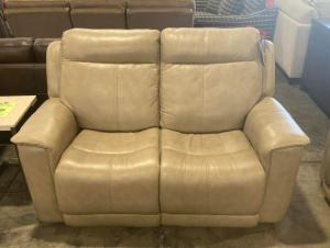 Miller PWR Leather Loveseat