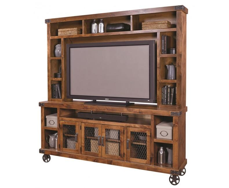 """Industrial 84"""" Console Hutch"""